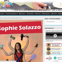 Sophie Solazzo sur Radioplus